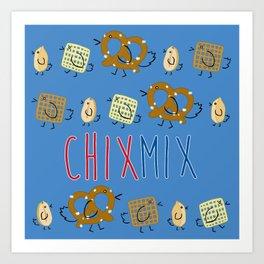 Chix Mix Art Print