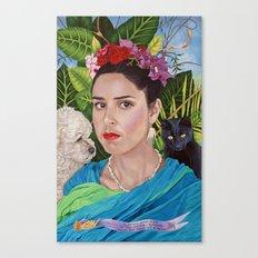 Frida and Me Canvas Print