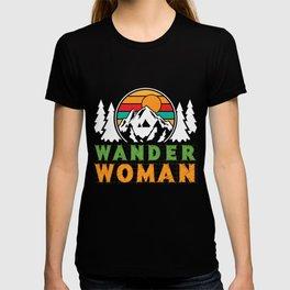 Wander Woman - mountaineering, hiking T-shirt