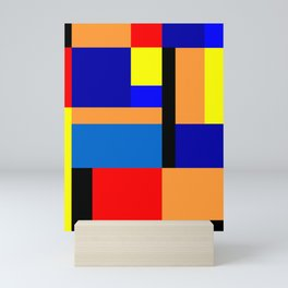 Mondrian #35 Mini Art Print