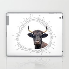 Yellow Horns Laptop & iPad Skin