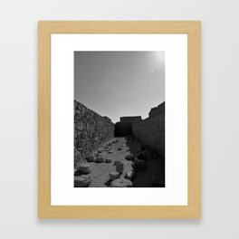 Masada Framed Art Print