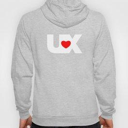 I Love UX Hoody