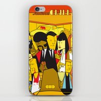 pulp iPhone & iPod Skins featuring Pulp Fiction by Ale Giorgini