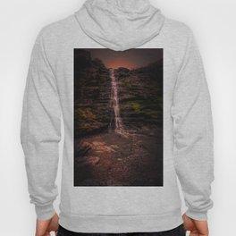 Tintagel beach waterfall Hoody