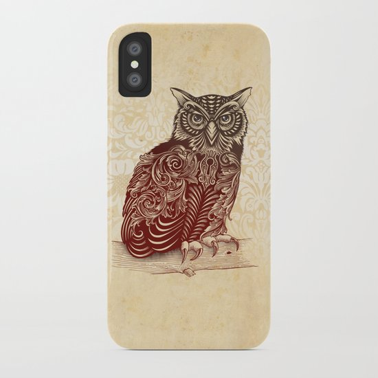 Most Ornate Owl iPhone Case