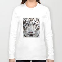 door Long Sleeve T-shirts featuring BLUE-EYED BOY by Catspaws