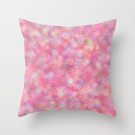 Lonely Tree in Spring Throw Pillow