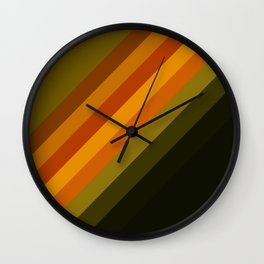 Rainbow color Wall Clock