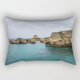 Roca vecchia Rectangular Pillow