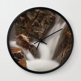 Shelving Rock Stream Wall Clock