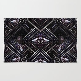 Luxury Jewels Pattern Rug