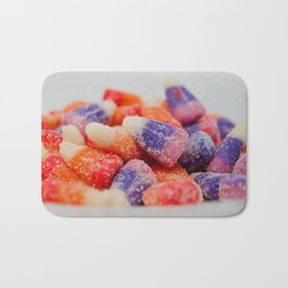 Sweet and sour flavored candy Bath Mat