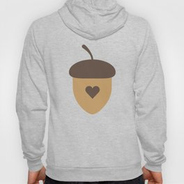 Acorn with heart T-Shirt for Women, Men and Kids Hoody