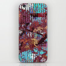 Multicolored nature abstract iPhone Skin