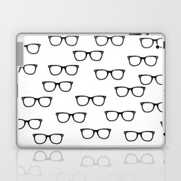 I See // Hipster Glasses Pattern Laptop & iPad Skin