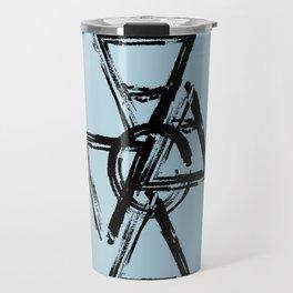 Elements 1 Black Travel Mug