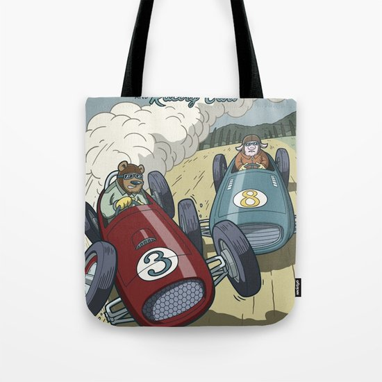 Hot Rods and Racing Cars No.26 Tote Bag