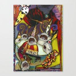 Singing Creatures Canvas Print