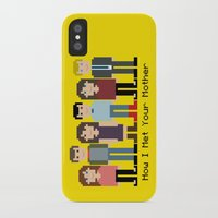 how i met your mother iPhone & iPod Cases featuring How I Met Your Mother by Evelyn Gonzalez