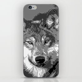 Wolf20151104 iPhone Skin