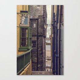 Sidestreet Canvas Print