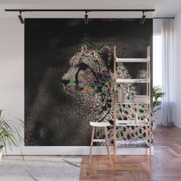 Abstract Animal - Cheetah Wall Mural