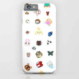 ac cute pattern iPhone Case
