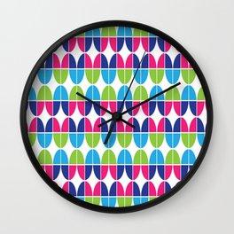 Geometric Circular Pattern Wall Clock