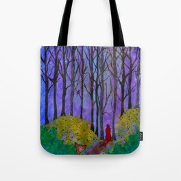 Night Stroll Tote Bag