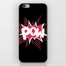 POW! iPhone & iPod Skin