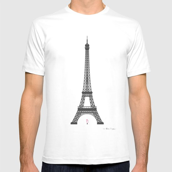 Eiffel Tower - First Kiss T-shirt