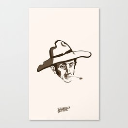 Bolívar Campesino - Trinchera Creativa Canvas Print