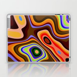 Colourful fluid abstract Laptop & iPad Skin