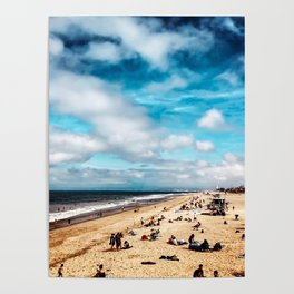 Manhattan Beach Summer Poster