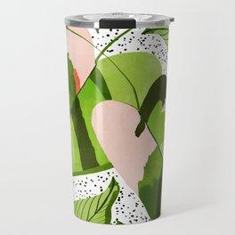 Blushing Leaves #illustration #painting Travel Mug