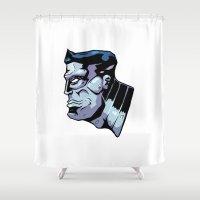 xmen Shower Curtains featuring x15 by jason st paul