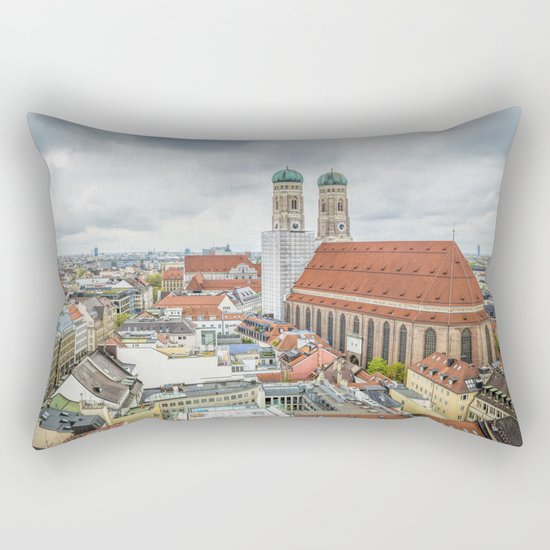 The Cathedral of Munich Rectangular Pillow