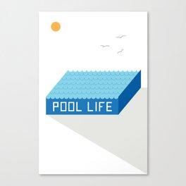 Pool Life Vol 2 Canvas Print