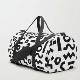 memphis brush 001 Duffle Bag