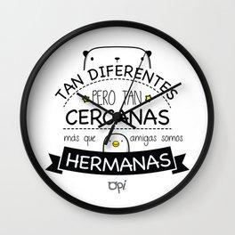 AMIGAS Y HERMANAS Wall Clock