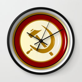 Russian Pin Wall Clock