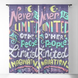 Never be limited Sheer Curtain