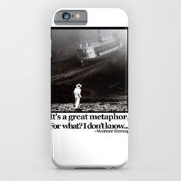 Fitzcarraldo Quote iPhone Case