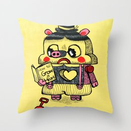 To be real Throw Pillow