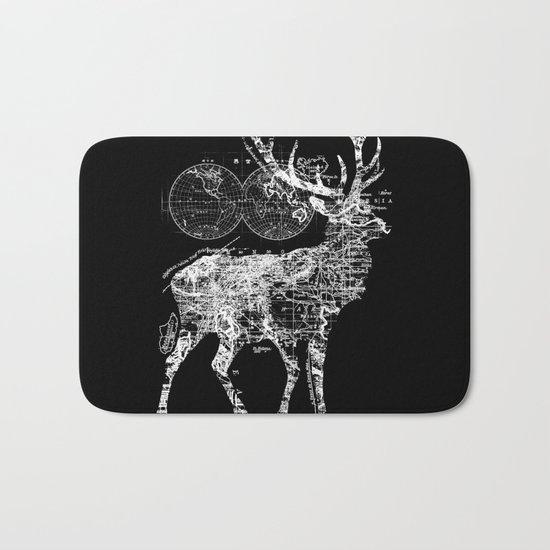 Deer Wanderlust Bath Mat