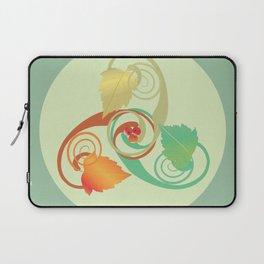 Three Hawthorn Leaves Laptop Sleeve