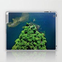 Archipelago Island - Aerial Photography Laptop & iPad Skin