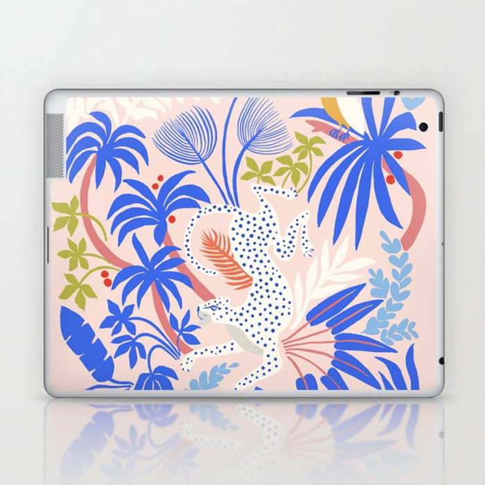 Rainforest Leopard Laptop & iPad Skin