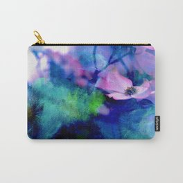 Paint, Petals & Branches Carry-All Pouch
